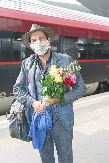 Künstler Abreise nach Seefeld - Hauptbahnhof, Wien - Do 11.06.2020 - Clemens UNTERREINER33