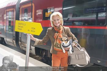 Werbeshooting für Festspielprogramm - Theaterpark Berndorf - Sa 13.06.2020 - Elisabeth GÜRTLER mit Hund Ella8