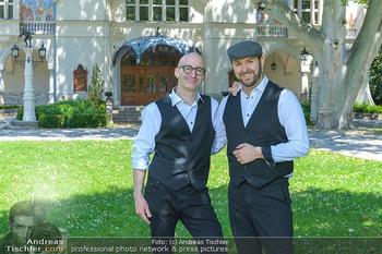 Werbeshooting für Festspielprogramm - Theaterpark Berndorf - Sa 13.06.2020 - Robert KOLAR, Helmut (Helmuth) Thomas STIPPICH74