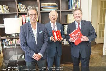 Ewald Plachutta Geburtstag - Brandstätter Verlag, Wien - Mo 15.06.2020 - Niki (Nikolaus) BRANDSTÄTTER, Ewald PLACHUTTA, Michael LUDWIG9