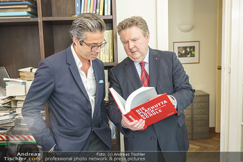 Ewald Plachutta Geburtstag - Brandstätter Verlag, Wien - Mo 15.06.2020 - Niki (Nikolaus) BRANDSTÄTTER, Michael LUDWIG17