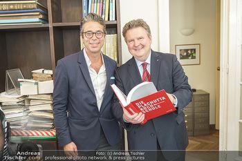 Ewald Plachutta Geburtstag - Brandstätter Verlag, Wien - Mo 15.06.2020 - Niki (Nikolaus) BRANDSTÄTTER, Michael LUDWIG18