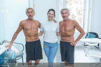 Botox Boys auf Beautytour - Privatklinik Worseg und John Harris - Di 16.06.2020 - Kristina WORSEG, BOTOX-BOYS (Botoxboys, Wess brothers) Arnold un69