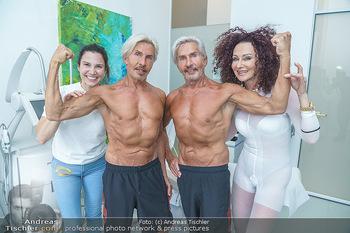 Botox Boys auf Beautytour - Privatklinik Worseg und John Harris - Di 16.06.2020 - BOTOX-BOYS (Botoxboys, Wess brothers) Arnold und Oskar WESS, Kri74