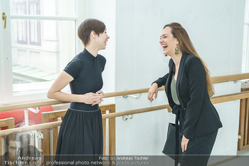 Staatsopernballett beim Training - Wiener Staatsoper - Fr 19.06.2020 - Maria YAKOVLEVA, Sasa SCHWARZJIRG2
