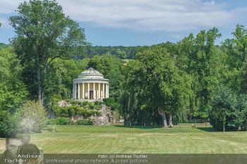 Wir spielen für Österreich - Bühnenfotos - Schloss Esterhazy, Eisenstadt - Fr 26.06.2020 - Schlosspark mit Leopoldinentempel beim Schloss Esterhazy5
