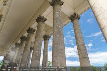 Wir spielen für Österreich - Bühnenfotos - Schloss Esterhazy, Eisenstadt - Fr 26.06.2020 - Säulen des Schloss Esterhazy, Rückseite9