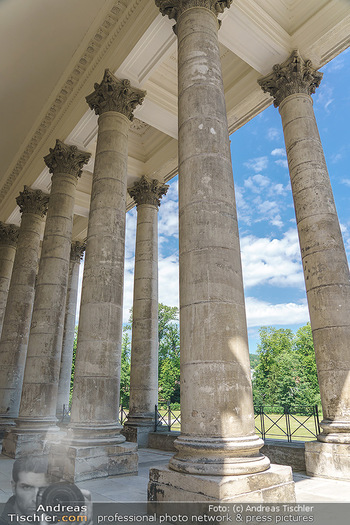 Wir spielen für Österreich - Bühnenfotos - Schloss Esterhazy, Eisenstadt - Fr 26.06.2020 - Säulen des Schloss Esterhazy, Rückseite10