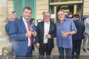Wir spielen für Österreich - Empfang - Henrici, Eisenstadt - Fr 26.06.2020 - Stefan OTTRUBAY, Karl WESSELY, Wolfgang BÖCK60