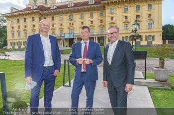Wir spielen für Österreich - Empfang - Henrici, Eisenstadt - Fr 26.06.2020 - Stefan OTTRUBAY, Peter SCHÖBER, Alexander WRABETZ70
