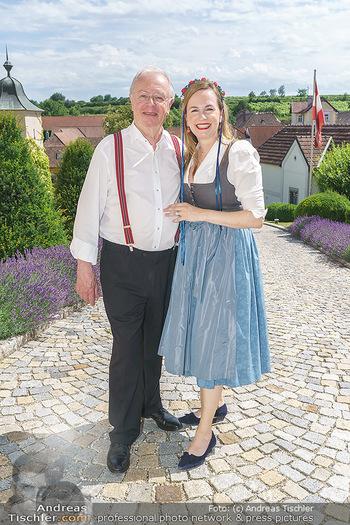 Ein fest für Dominique Meyer - Schloss Gobelsburg, NÖ - Mi 01.07.2020 - Maria GROßBAUER mit Vater Karl JEITLER5