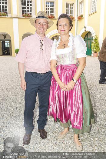 Ein fest für Dominique Meyer - Schloss Gobelsburg, NÖ - Mi 01.07.2020 - Schlossherr und Schlossherrin Michael und Eva MOOSBRUGGER10