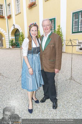 Ein fest für Dominique Meyer - Schloss Gobelsburg, NÖ - Mi 01.07.2020 - Maria GROßBAUER mit Vater Karl JEITLER12