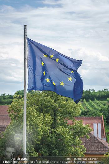 Ein fest für Dominique Meyer - Schloss Gobelsburg, NÖ - Mi 01.07.2020 - EU-Flagge der Europäischen Union13