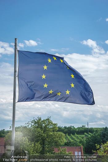 Ein fest für Dominique Meyer - Schloss Gobelsburg, NÖ - Mi 01.07.2020 - EU-Flagge der Europäischen Union14