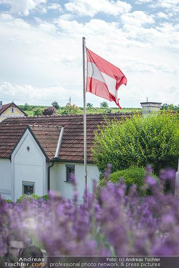 Ein fest für Dominique Meyer - Schloss Gobelsburg, NÖ - Mi 01.07.2020 - EU-Flagge der Europäischen Union19