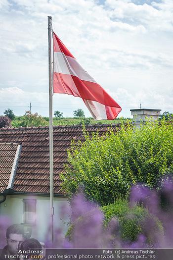 Ein fest für Dominique Meyer - Schloss Gobelsburg, NÖ - Mi 01.07.2020 - EU-Flagge der Europäischen Union20