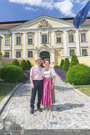 Ein fest für Dominique Meyer - Schloss Gobelsburg, NÖ - Mi 01.07.2020 - Schlossherr und Schlossherrin Michael und Eva MOOSBRUGGER22