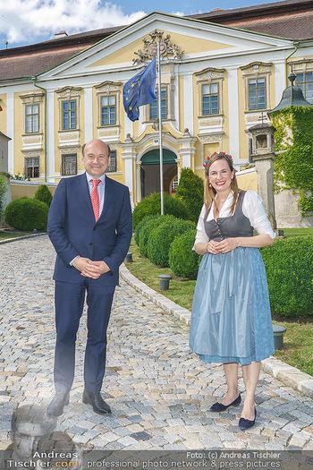 Ein fest für Dominique Meyer - Schloss Gobelsburg, NÖ - Mi 01.07.2020 - Dominique MEYER, Maria GROßBAUER23