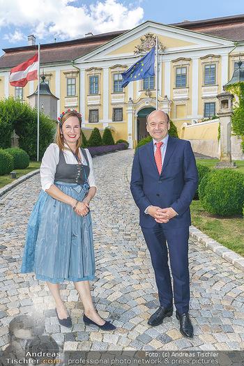 Ein fest für Dominique Meyer - Schloss Gobelsburg, NÖ - Mi 01.07.2020 - Dominique MEYER, Maria GROßBAUER26