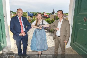 Ein fest für Dominique Meyer - Schloss Gobelsburg, NÖ - Mi 01.07.2020 - Dominique MEYER, Maria GROßBAUER, Andre COMPLOI56