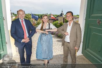 Ein fest für Dominique Meyer - Schloss Gobelsburg, NÖ - Mi 01.07.2020 - Dominique MEYER, Maria GROßBAUER, Andre COMPLOI57