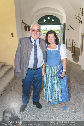 Ein fest für Dominique Meyer - Schloss Gobelsburg, NÖ - Mi 01.07.2020 - Walter ROTHENSTEINER mit Ehefrau Charlotte62