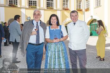 Ein fest für Dominique Meyer - Schloss Gobelsburg, NÖ - Mi 01.07.2020 - Walter ROTHENSTEINER mit Ehefrau Charlotte, Toni MÖRWALD65
