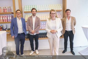 Pre-Opening - Waterdrop Store - Do 02.07.2020 - Die Gründer Christoph HERMANN, Henry WIESER und Martin MURRAY, 1
