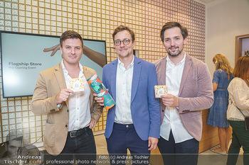 Pre-Opening - Waterdrop Store - Do 02.07.2020 - Die Gründer Christoph HERMANN, Henry WIESER und Martin MURRAY2