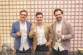 Pre-Opening - Waterdrop Store - Do 02.07.2020 - Die Gründer Christoph HERMANN, Henry WIESER und Martin MURRAY19