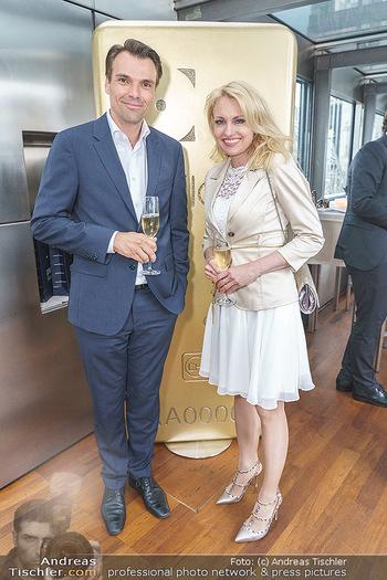 Philoro Golden Winner Dinner - Do&Co Wintergarten - Do 16.07.2020 - Aleksandra IZDEBSKA, Jochen BORENICH33