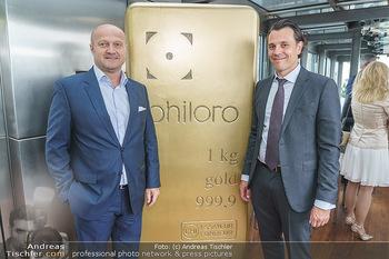 Philoro Golden Winner Dinner - Do&Co Wintergarten - Do 16.07.2020 - Gernot FISCHER, Rudolf Rudi BRENNER35