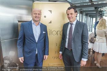 Philoro Golden Winner Dinner - Do&Co Wintergarten - Do 16.07.2020 - Gernot FISCHER, Rudolf Rudi BRENNER36