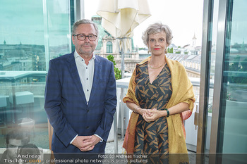 Philoro Golden Winner Dinner - Do&Co Wintergarten - Do 16.07.2020 - Alexander WRABETZ, Sabine HAAG46