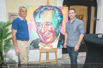 Lugner Gemälde - Galerie Steiner - Do 23.07.2020 - Künstler David und Harald MOSER (Moser&Moser, Sohn und Vater)8
