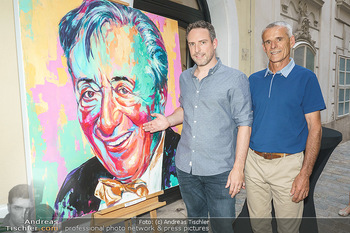 Lugner Gemälde - Galerie Steiner - Do 23.07.2020 - Künstler David und Harald MOSER (Moser&Moser, Sohn und Vater)9