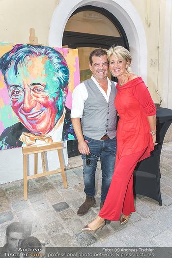 Lugner Gemälde - Galerie Steiner - Do 23.07.2020 - Christian SINEMUS, Karin KARRER (Zebra)17
