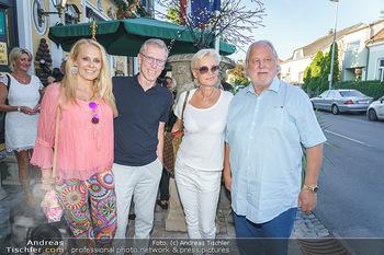Andy Lee Lang Geburtstag - Marchfelderhof - Mo 27.07.2020 - Peter STÖGER, Ulrike KRIEGLER, Hannes KARTNIG mit Ehefrau Claud39