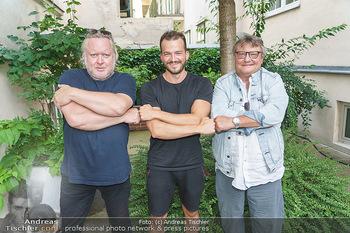 Interviewtermin Seberg und Prokopetz - Agentur Sobieszek, Wien - Mi 29.07.2020 - Gregor SEBERG, Jan FRANKL, Joesi PROKOPETZ1