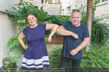 Interviewtermin Seberg und Prokopetz - Agentur Sobieszek, Wien - Mi 29.07.2020 - Gregor SEBERG, Julia SOBIESZEK3