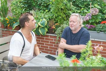 Interviewtermin Seberg und Prokopetz - Agentur Sobieszek, Wien - Mi 29.07.2020 - Christian SINEMUS interviewt Gregor SEBERG14