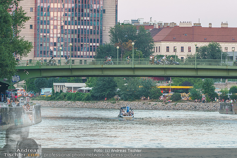 Velo Promotionfahrt - 2020-08-08 - Donaukanal