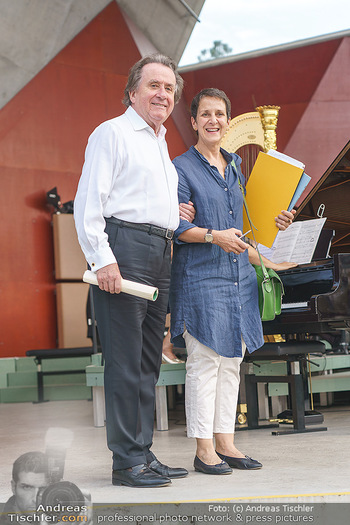 Festspiel Premiere - Grafenegg - Fr 14.08.2020 - Rudolf BUCHBINDER, Konstantía GOURZI14