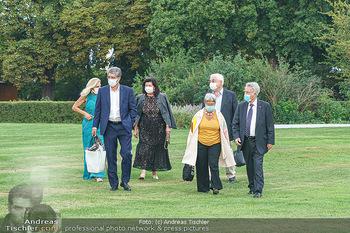Festspiel Premiere - Grafenegg - Fr 14.08.2020 - Wolfgang und Brigitte HESOUN, Heinz und Margit FISCHER79