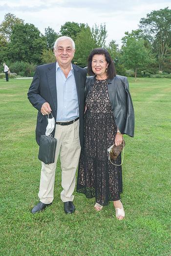 Festspiel Premiere - Grafenegg - Fr 14.08.2020 - Walter ROTHENSTEINER mit Ehefrau Charlotte85