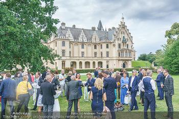 Festspiel Premiere - Grafenegg - Fr 14.08.2020 - VIP-Empfang, Promis vor dem Schloss kurz vor Einlass und Schlech118