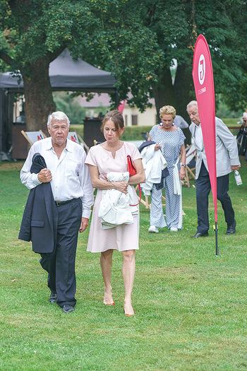 Festspiel Premiere - Grafenegg - Fr 14.08.2020 - Peter WECK mit Begleitung Freundin Joanna RZEPA121