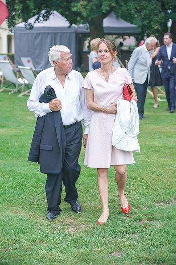 Festspiel Premiere - Grafenegg - Fr 14.08.2020 - Peter WECK mit Begleitung Freundin Joanna RZEPA122