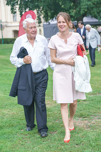 Festspiel Premiere - Grafenegg - Fr 14.08.2020 - Peter WECK mit Begleitung Freundin Joanna RZEPA125